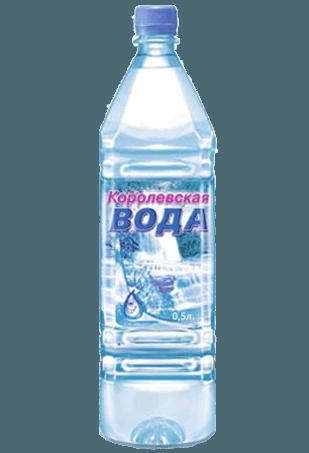 Королевская вода 0,5 л. с газом (24 шт.)