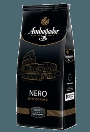 Кофе в зернах Ambasador Nero, 1кг.