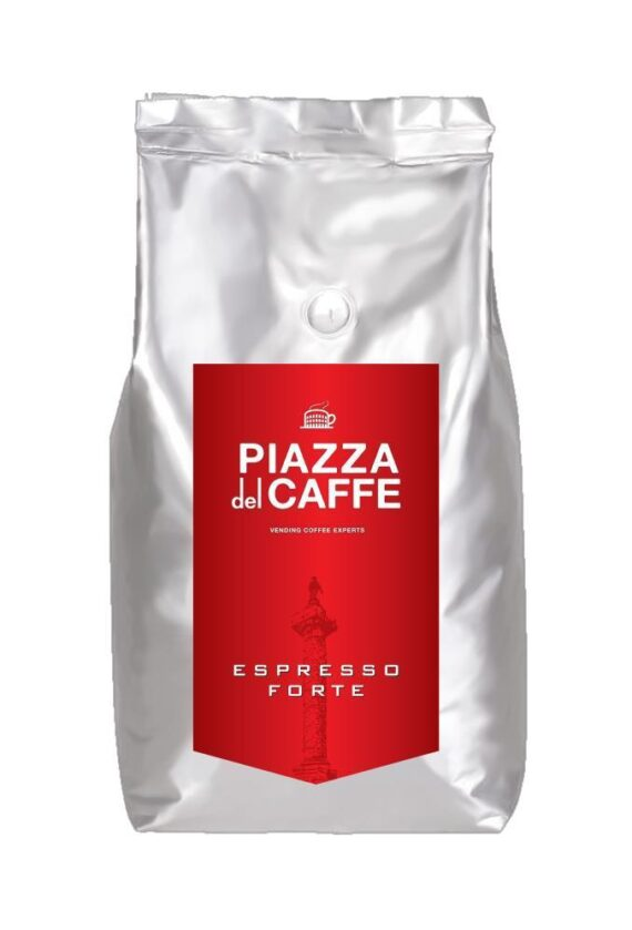 Кофе в зернах Piazza del Caffee Espresso Forte, 1кг