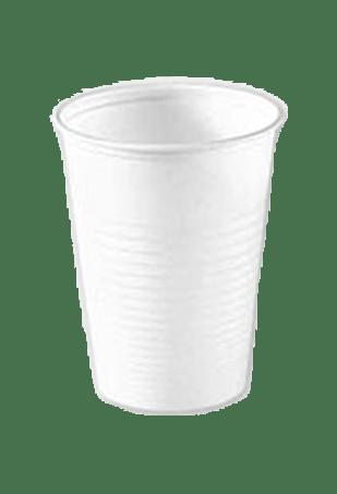 Стакан белый пластиковый Huhtamaki А25, 100 шт.