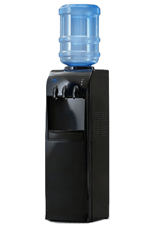 кулер для воды, напольный кулер для воды, кулер в офис, чёрный кулер