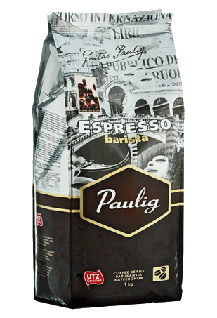 кофе в зернах, Паулиг Эспрессо Бариста, Paulig Espresso Barista