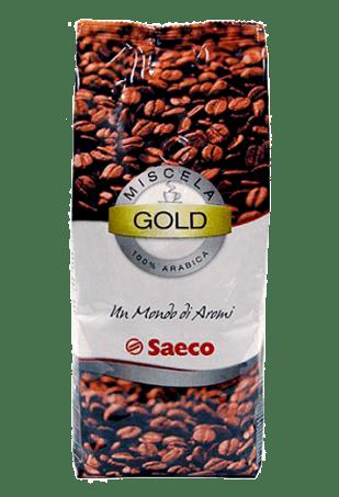 Кофе в зернах Saeco Gold, 1кг