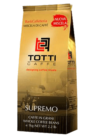 Кофе в зернах Totti Supremo, 1 кг.