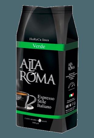 Кофе в зернах Alta Roma Verde, 1кг