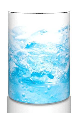 Чехол декоративный на бутыль, aqua12-10 Water