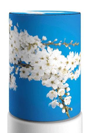 Чехол на бутыль 19 литров, nature12-01 Cherry Blossom1