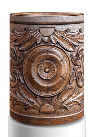 Декоративный чехол на 19л бутыль, wood12-10 WoodCarving