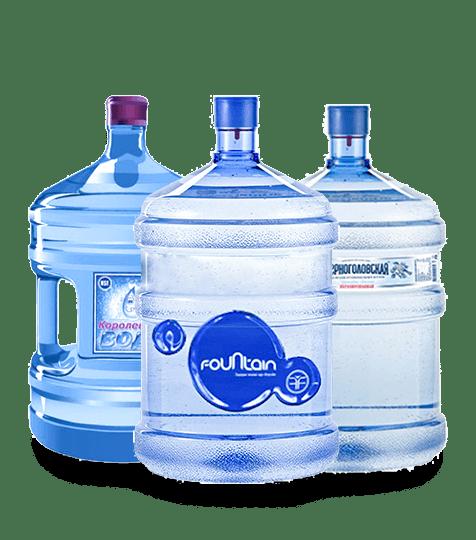 Питьевая вода 19 л с доставкой