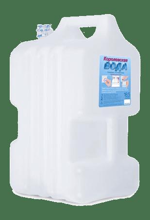 Вода в канистре, вода для кулеров с нижней загрузкой, питьевая вода, вода 20 л.