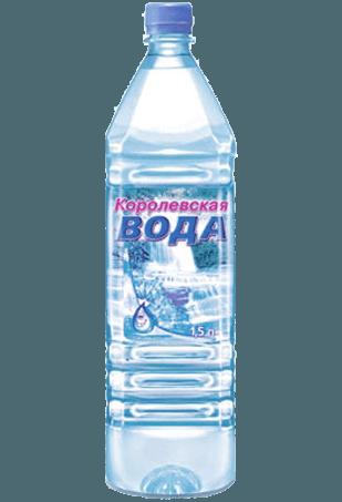 королевская вода, питьевая вода, газированная, пачка воды 1,5 л., вода 1,5 л., газированная вода в бутылке
