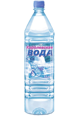 Королевская вода 1,5 л. с газом (6 шт.)