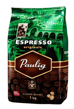 кофе в зернах, Паулиг Эспрессо Оригинале, Paulig Espresso Originale