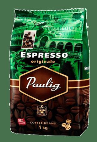 Кофе в зернах Paulig Espresso Originale, 1кг