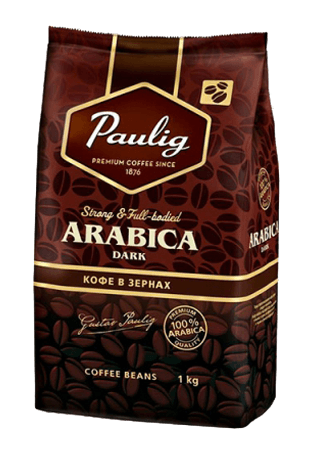 кофе в зернах, Паулиг Арабика Дарк, Paulig Arabica Dark