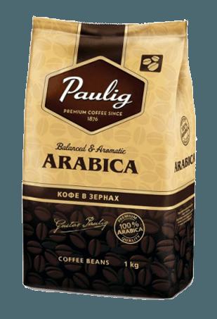 Кофе в зернах Paulig Arabica, 1кг