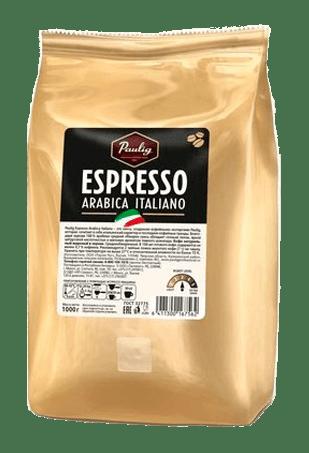 кофе в зернах, Паулиг Эспрессо Арабика Итальяно, Paulig Espresso Arabica Italiano