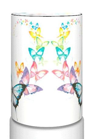 Декоративный чехол на бутыль 19л, бабочки.
