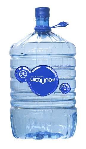 Питьевая вода Фаунтейн в 19-ти литровой одноразовой бутыли