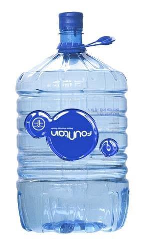 Вода «Фоунтейн» 19л в одноразовой бутыли
