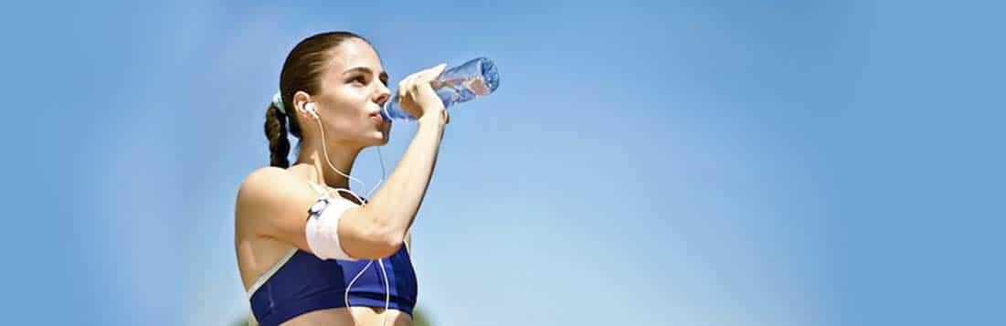 тренировки, питьевая вода