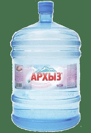 вода для кулера, вода 19 литров, Архыз