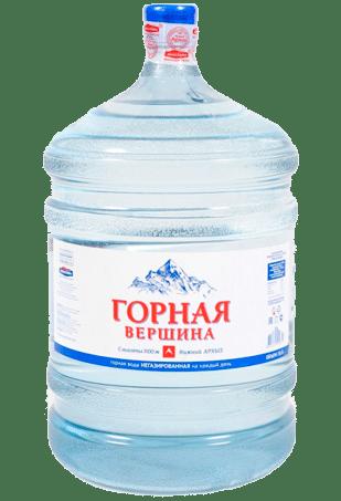 вода для кулера, горная вершина, вода 19 литров