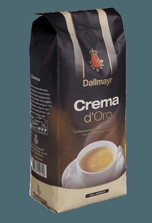 Dallmayr Crema D'Oro, кофе в зёрнах, 1 кг