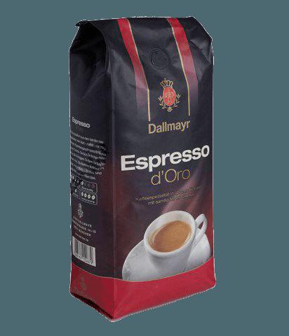 Dallmayr Espresso D'Oro, кофе в зёрнах, 1 кг