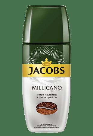 Jacobs Monarch Millicano, кофе растворимый с молотым, 95 г