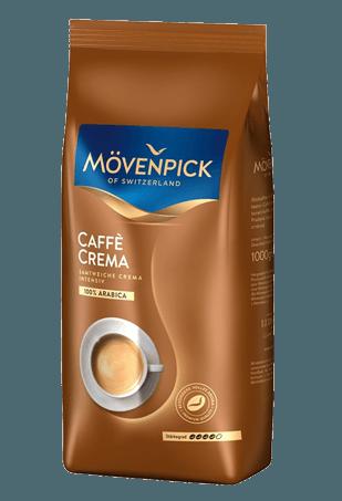 Movenpick Caffe Crema, кофе в зёрнах, 1 кг