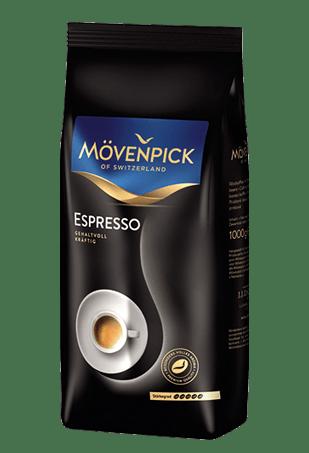 Movenpick Espresso, кофе в зёрнах, 1 кг