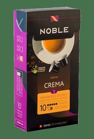 Кофе в капсулах Noble Crema, 100 капсул (10*10)