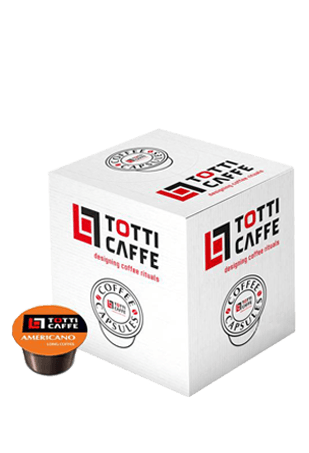 Кофе в капсулах Totti Caffe Americano, 100 шт