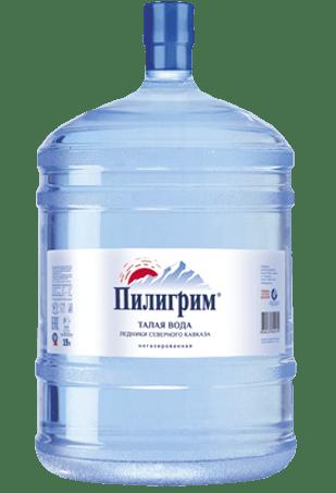 доставка воды, вода для кулера, вода Пилигрим, вода 19 литров