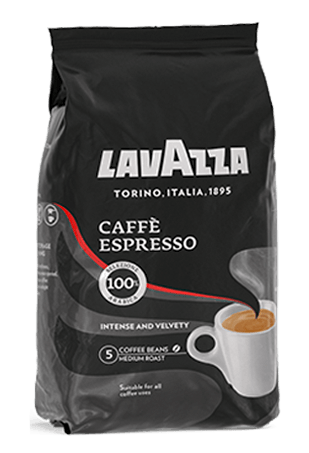 Lavazza Caffe Espresso, кофе в зернах, 1 кг