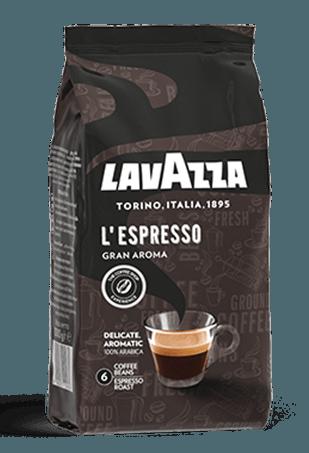 Lavazza L`Espresso Gran Aroma, кофе в зёрнах, 1 кг