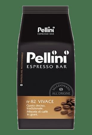 Pellini 82 Vivace, кофе в зернах, 1 кг
