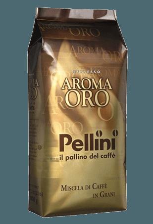 Pellini Oro, кофе в зернах, 1 кг