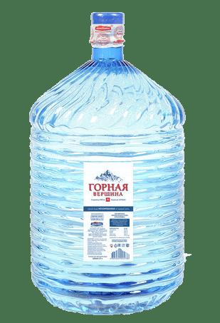 Вода «Горная Вершина» одноразовая 19л