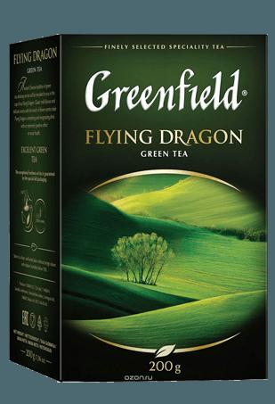 Чай Greenfield Флаинг Драгон зеленый, 200г
