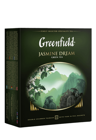 Чай Greenfield Jasmine Dream зеленый, 2*100