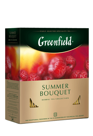 Чай Greenfield Summer Bouquet фруктовый, 2*100