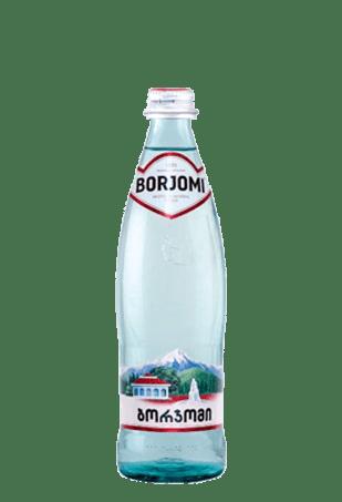 Вода «Боржоми» газированная, стекло, 0,5л, 12шт