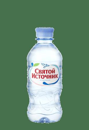 Вода Святой Источник негазированная 0,33л, 12шт