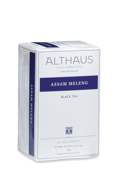 Чай Althaus Assam Meleng Deli Pack, 20*1.75