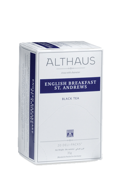 Чай Althaus English Breakfast St. Andrews Deli Pack, 20*1.75