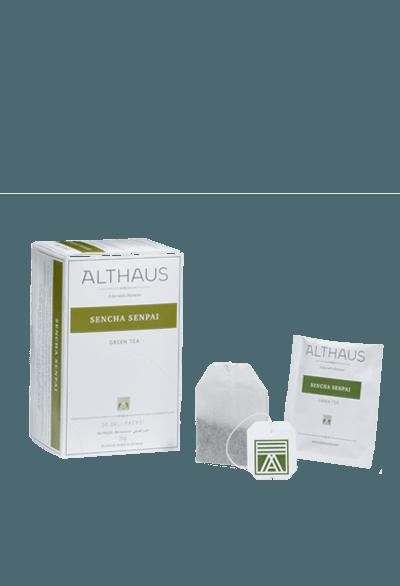 Чай Althaus Sencha Senpai Deli Pack, 20*1.75