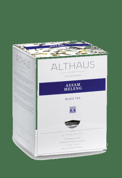 Чай Althaus Assam Meleng Pyra-Pack, 15*2,75