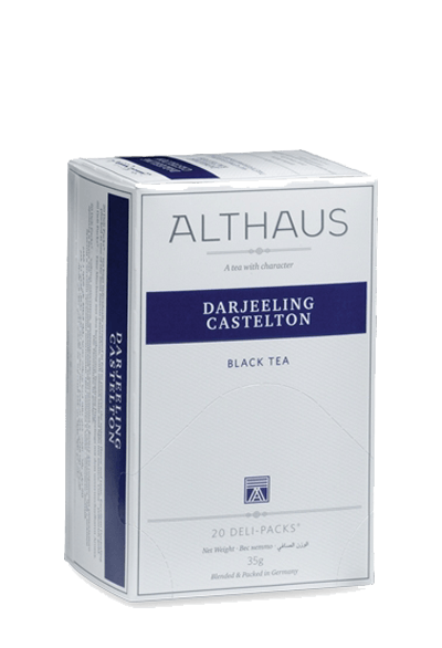 Чай Althaus Darjeeling Castelton Deli Pack, 20*1.75